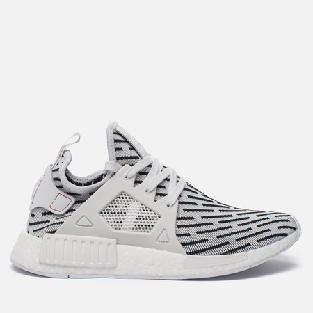Кроссовки adidas Originals NMD XR1 Primeknit Zebra White/White/Core Red