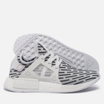 Кроссовки adidas Originals NMD XR1 Primeknit Zebra White/White/Core Red фото- 1