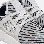 Кроссовки adidas Originals NMD XR1 Primeknit Zebra White/White/Core Red фото- 4
