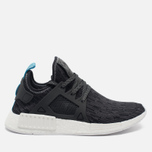 Кроссовки adidas Originals NMD XR1 Utility Black/Core Black/Bright Blue фото- 0
