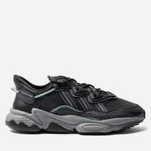 Мужские кроссовки adidas Originals Ozweego Core Black/Grey Four/Onix фото- 3