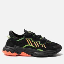 Кроссовки adidas Originals Ozweego Core Black/Solar Green/Hi-Res Coral фото- 3