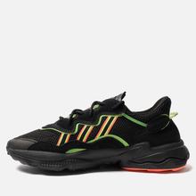 Кроссовки adidas Originals Ozweego Core Black/Solar Green/Hi-Res Coral фото- 5