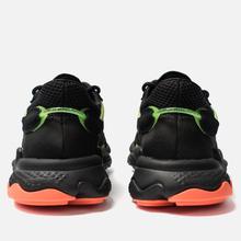 Кроссовки adidas Originals Ozweego Core Black/Solar Green/Hi-Res Coral фото- 2