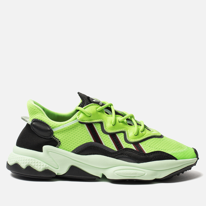 Мужские кроссовки adidas Originals Ozweego Solar Green/Core Black/Glow Green