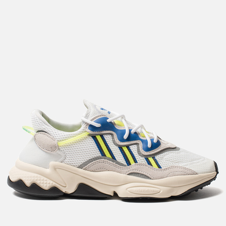 Кроссовки adidas Originals Ozweego White/Grey One/Solar Yellow