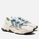 Кроссовки adidas Originals Ozweego White/Grey One/Solar Yellow фото- 2