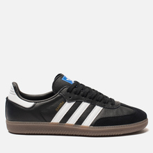 Мужские кроссовки adidas Originals Samba OG Core Black/White/Gum фото- 3