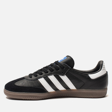 Мужские кроссовки adidas Originals Samba OG Core Black/White/Gum фото- 5
