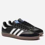 Мужские кроссовки adidas Originals Samba OG Core Black/White/Gum фото- 2