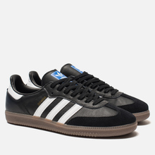 Мужские кроссовки adidas Originals Samba OG Core Black/White/Gum фото- 0