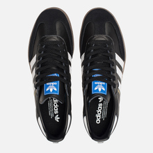 Мужские кроссовки adidas Originals Samba OG Core Black/White/Gum фото- 1