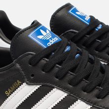 Мужские кроссовки adidas Originals Samba OG Core Black/White/Gum фото- 6