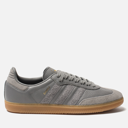 Мужские кроссовки adidas Originals Samba OG FT Grey Three/Grey Three/Gold Metallic