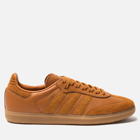 Мужские кроссовки adidas Originals Samba OG FT Raft Ochre/Craft Ochre/Gold Metallic