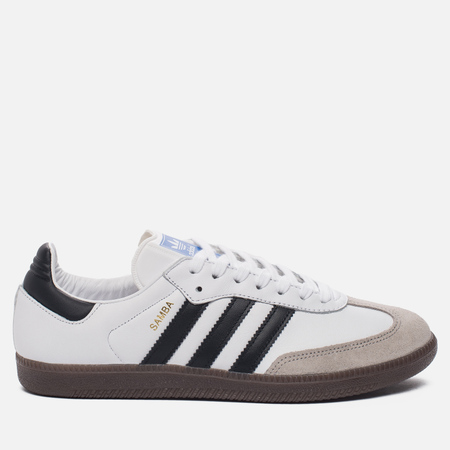 Кроссовки adidas Originals Samba OG Running White/Core Black/Gum