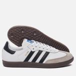 Кроссовки adidas Originals Samba OG Running White/Core Black/Gum фото- 2