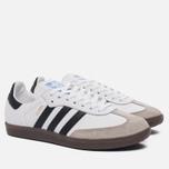 Кроссовки adidas Originals Samba OG Running White/Core Black/Gum фото- 1