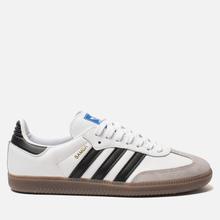 Кроссовки adidas Originals Samba OG White/Black/Clear Granite фото- 3