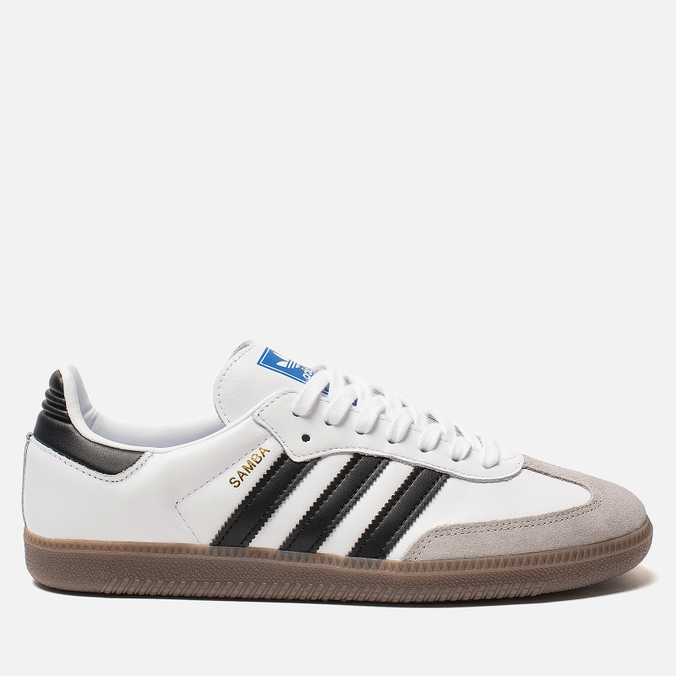 Мужские кроссовки adidas Originals Samba OG White/Core Black/Clear Granite