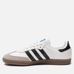 Кроссовки adidas Originals Samba OG White/Black/Clear Granite фото- 1
