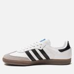 Мужские кроссовки adidas Originals Samba OG White/Core Black/Clear Granite фото- 1