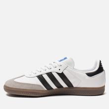 Кроссовки adidas Originals Samba OG White/Black/Clear Granite фото- 5