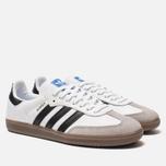 Мужские кроссовки adidas Originals Samba OG White/Core Black/Clear Granite фото- 2