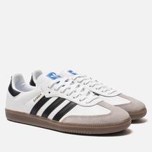 Кроссовки adidas Originals Samba OG White/Black/Clear Granite фото- 0