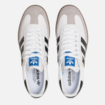 Кроссовки adidas Originals Samba OG White/Black/Clear Granite фото- 5