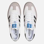 Мужские кроссовки adidas Originals Samba OG White/Core Black/Clear Granite фото- 5