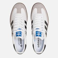 Кроссовки adidas Originals Samba OG White/Black/Clear Granite фото- 1