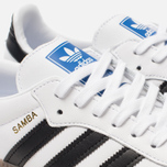 Кроссовки adidas Originals Samba OG White/Black/Clear Granite фото- 6