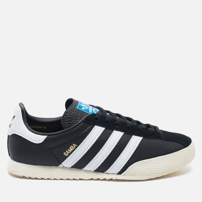 Мужские кроссовки adidas Originals Samba Spezial Black/White/Gold