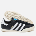 Мужские кроссовки adidas Originals Samba Spezial Black/White/Gold фото- 2