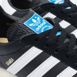 Мужские кроссовки adidas Originals Samba Spezial Black/White/Gold фото- 5