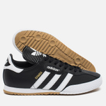 Мужские кроссовки adidas Originals Samba Super Medium Grey Heather/White фото- 2