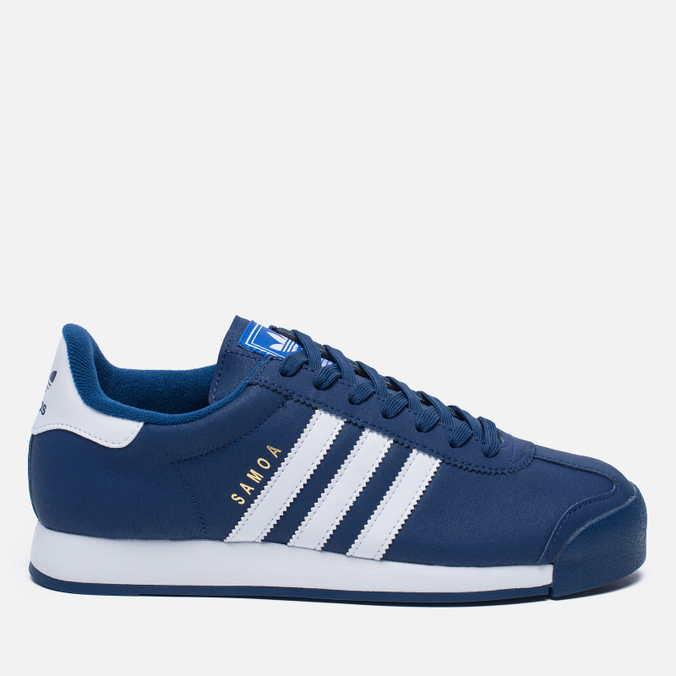 Мужские кроссовки adidas Originals Samoa Mystery Blue/White/Blue