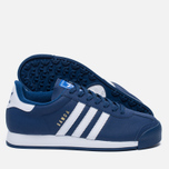 Мужские кроссовки adidas Originals Samoa Mystery Blue/White/Blue фото- 2