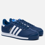 Мужские кроссовки adidas Originals Samoa Mystery Blue/White/Blue фото- 1