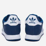 Мужские кроссовки adidas Originals Samoa Mystery Blue/White/Blue фото- 3