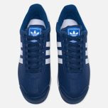Мужские кроссовки adidas Originals Samoa Mystery Blue/White/Blue фото- 4