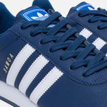 Мужские кроссовки adidas Originals Samoa Mystery Blue/White/Blue фото- 5
