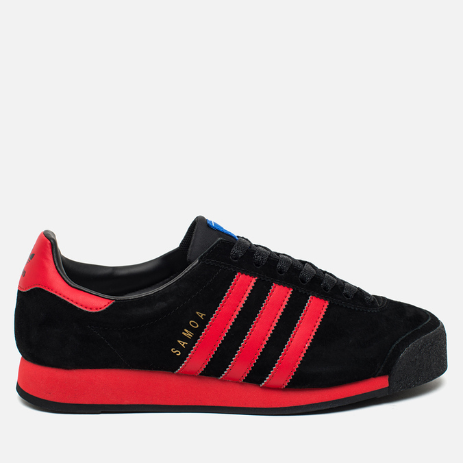 Мужские кроссовки adidas Originals Samoa Vintage Core Black/Lush Red