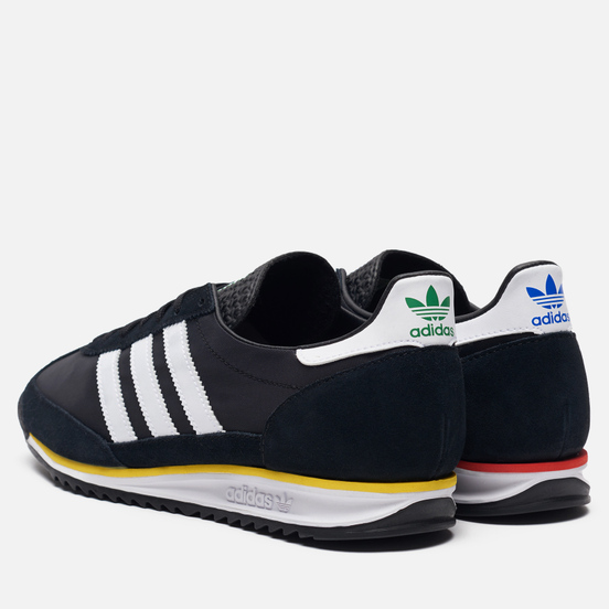 Мужские кроссовки adidas Originals SL 72 Green/Yellow/Core Black