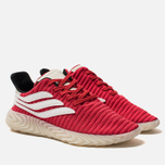 Мужские кроссовки adidas Originals Sobakov Scarlet/White/Core Black фото- 2