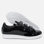 Мужские кроссовки adidas Originals Stan Smith CF Black/White фото- 2