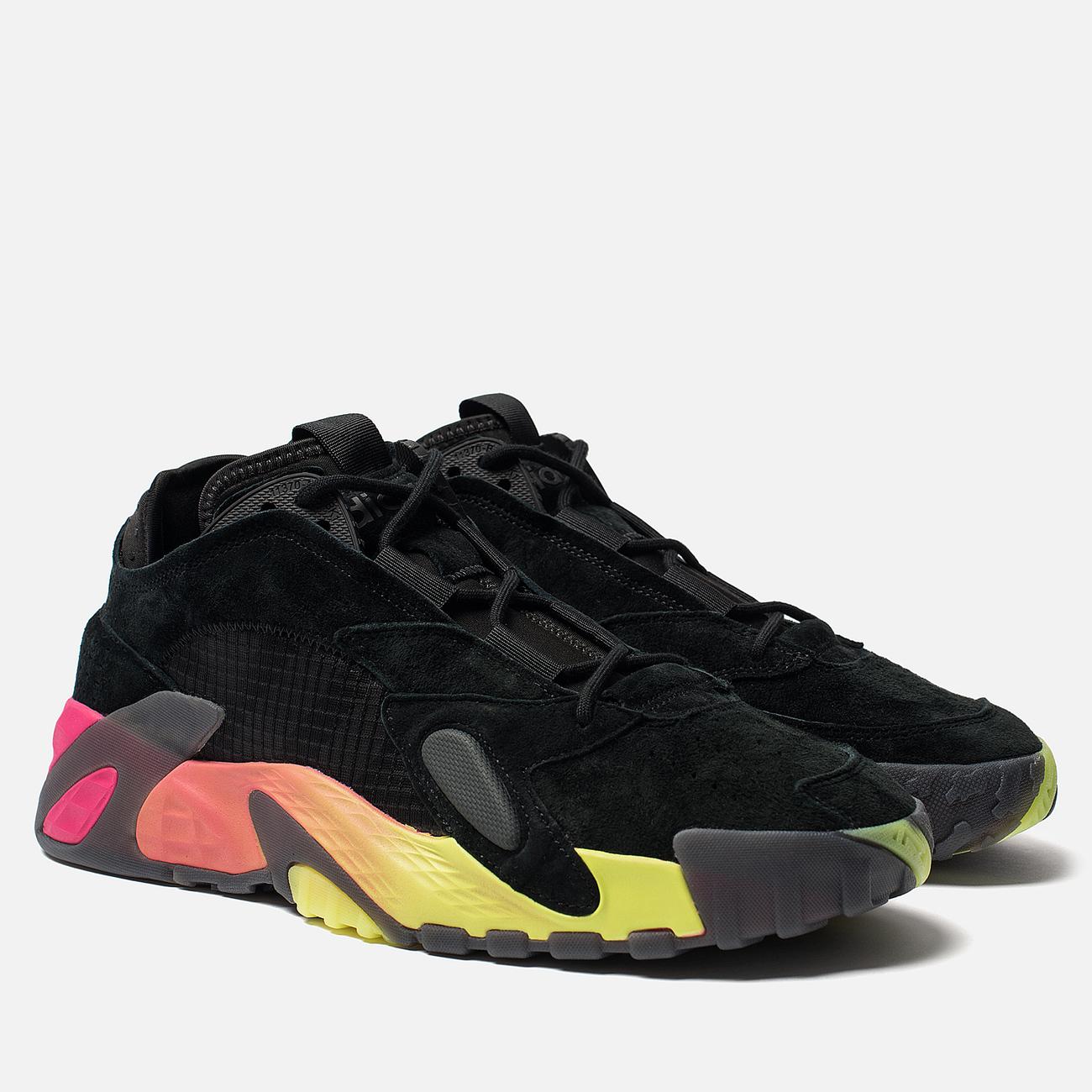 Кроссовки adidas Originals Streetball Core Black/Solar Yellow/Shock Pink