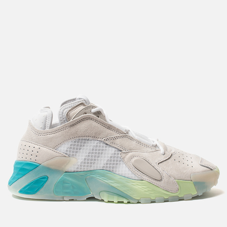 Мужские кроссовки adidas Originals Streetball White/Glow Green/Hi-Res Aqua