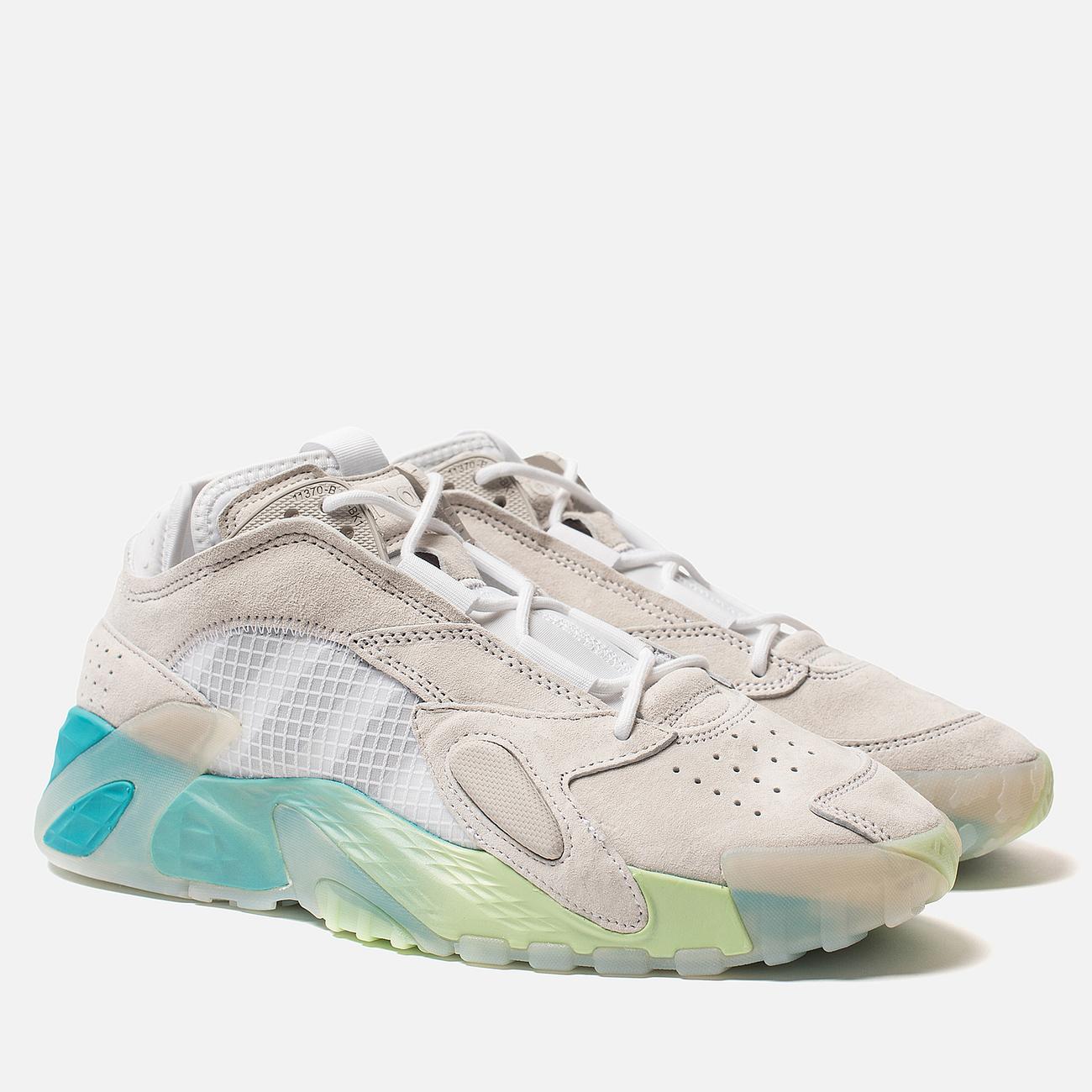 Кроссовки adidas Originals Streetball White/Glow Green/Hi-Res Aqua